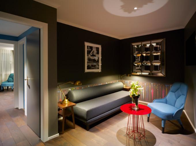 Ausstattung - Hotel City Zürich ***Superior Boutique Hotel - Lounge