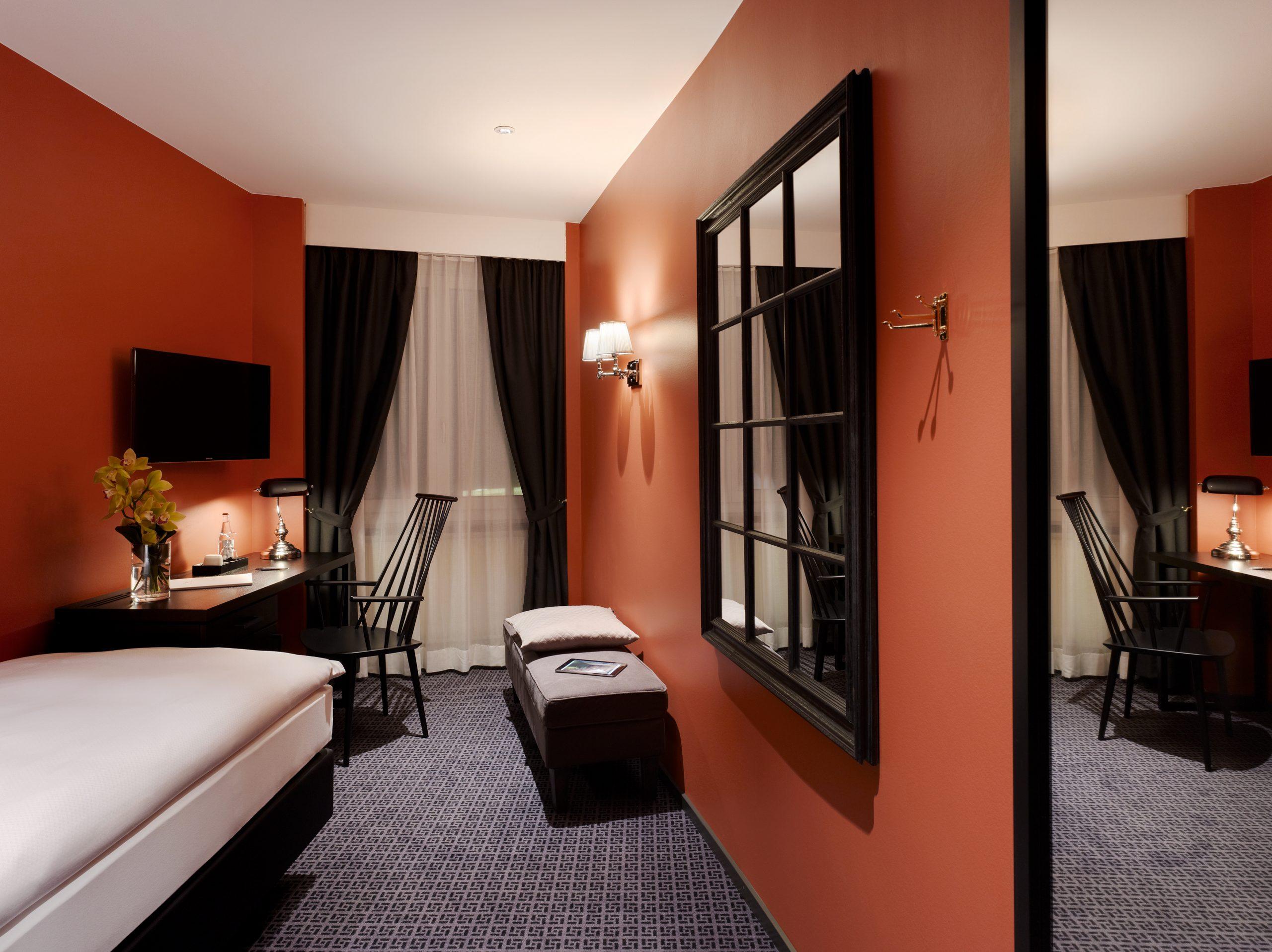 Einzelzimmer Economy, Hotel City Zürich