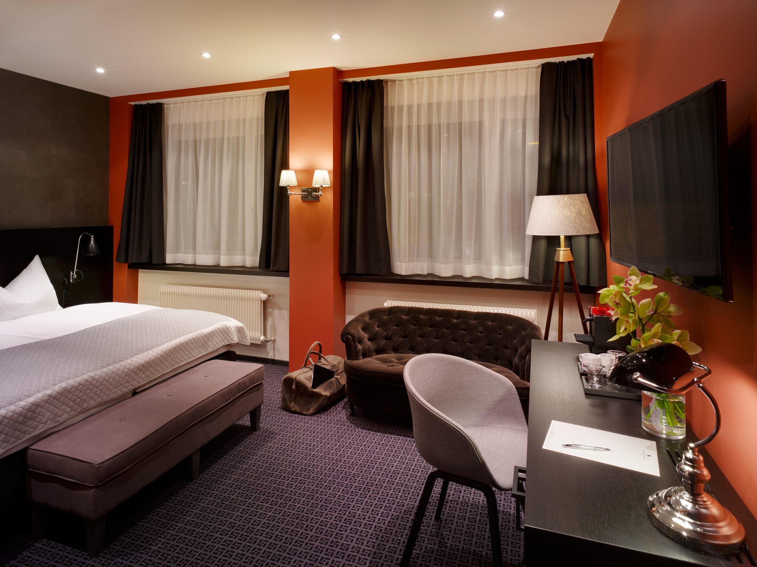 Doppelzimmer Superior, Hotel City Zürich