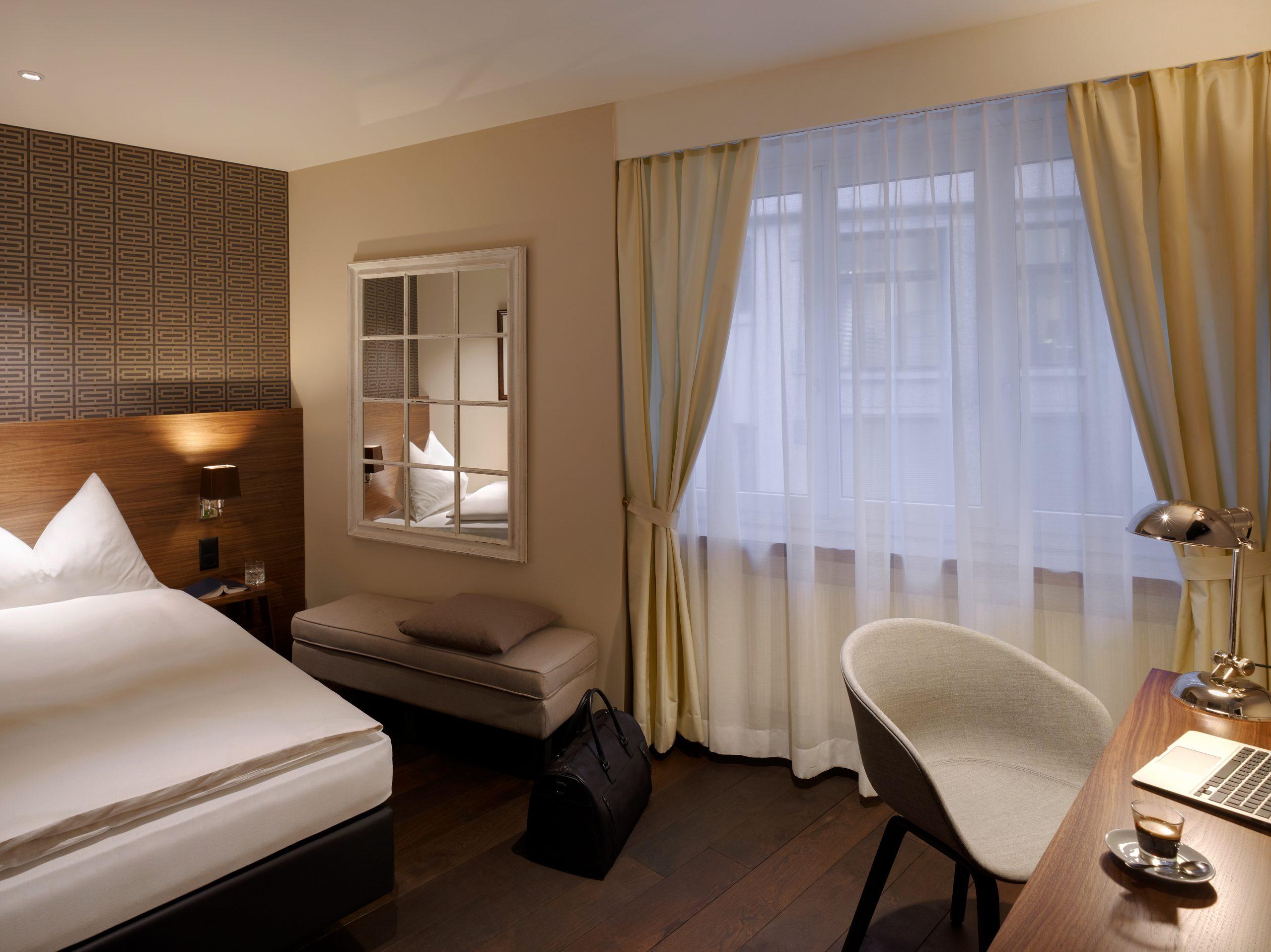 Einzelzimmer Superior, Hotel City Zürich