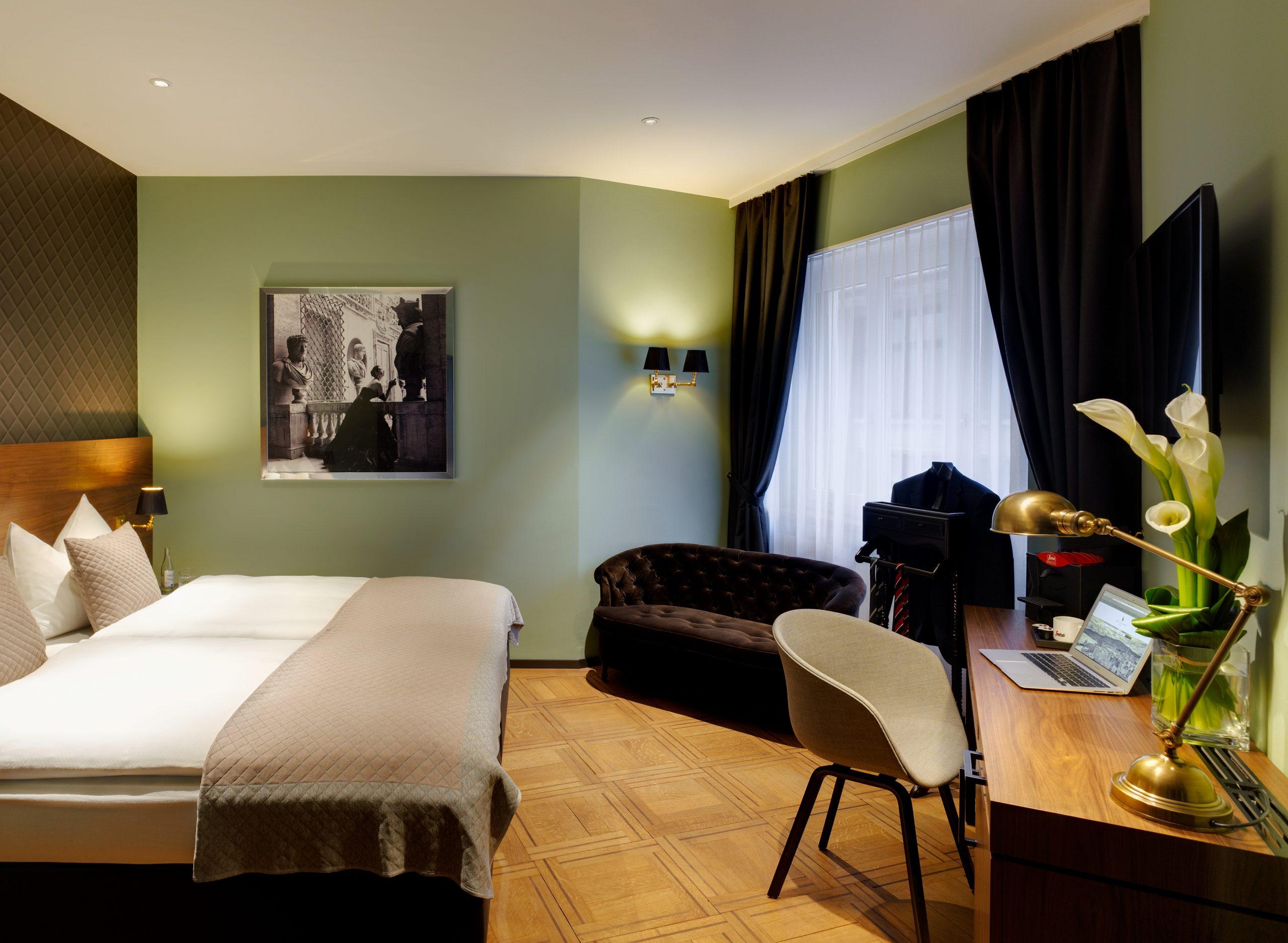Doppelzimmer Business, Hotel City Zürich