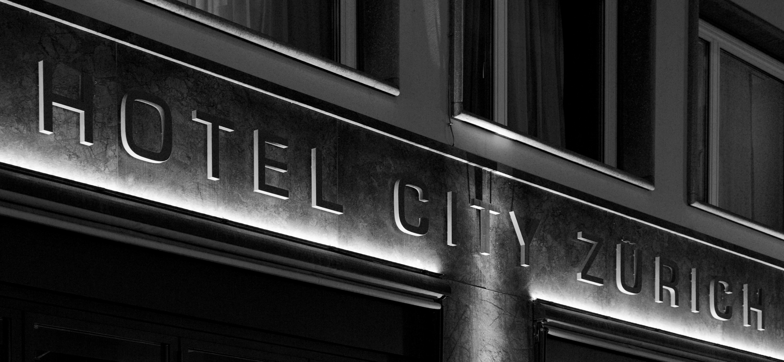 Ausstattung - Hotel City Zürich ***Superior Boutique Hotel - Fassade