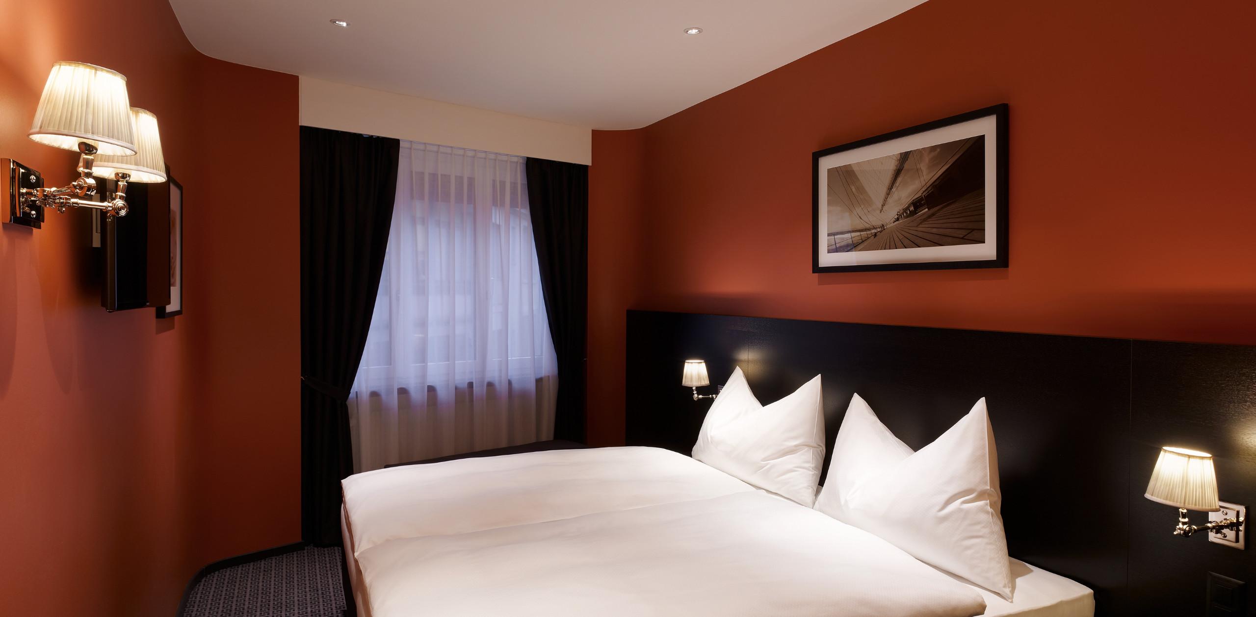 Doppelzimmer Economy - Hotel City Zürich ***Superior Boutique Hotel