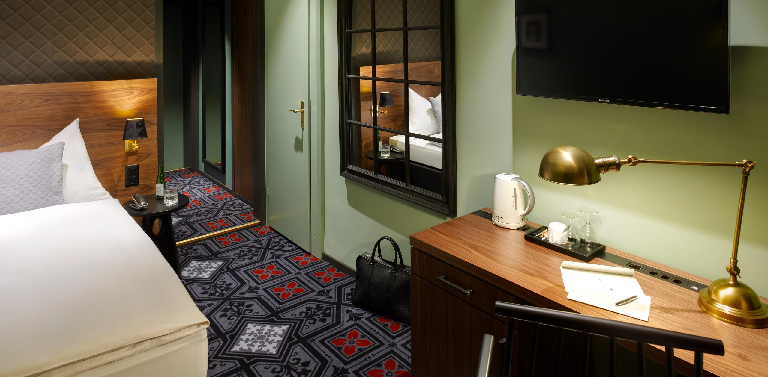 Einzelzimmer Economy - Hotel City Zürich ***Superior Boutique Hotel