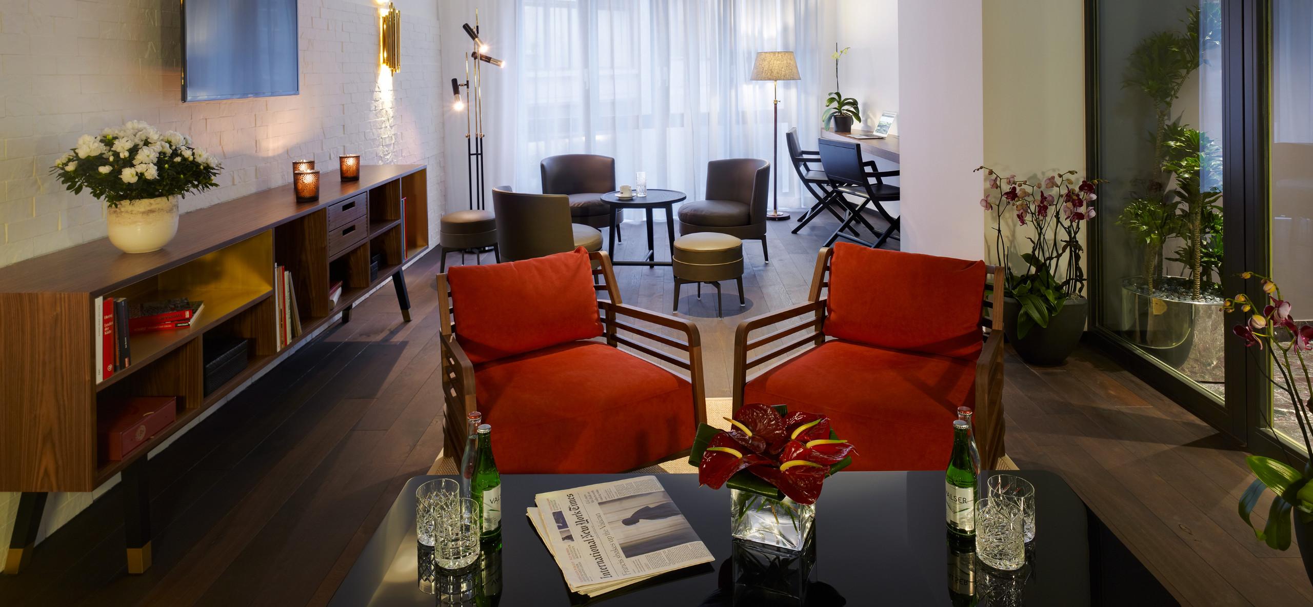 Hotel City Zürich *** Superior Boutique Hotel Lounge