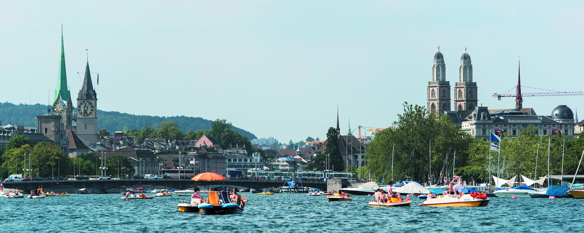 Summer in the city - ZürichCity Hotels Sommer 2020